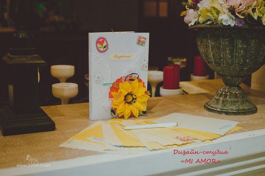 """книга пожеланий - фото 2435041 Дизайн-студия """"Mi Amor"""" - свадебные аксессуары"""