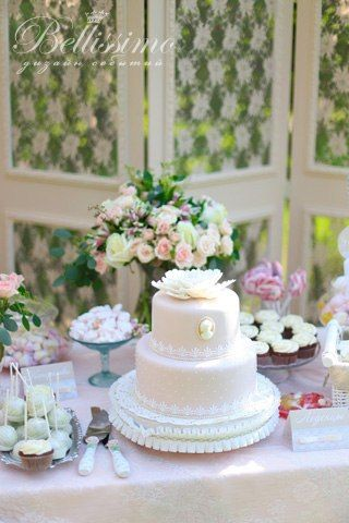 Свадебный торт - фото 2443713 Студия оформления торжеств Bellissimo