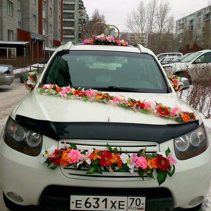Изготовим на заказ любое свадебное украшение на машину
