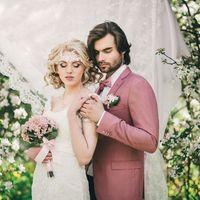 Кружевная свадьба_свадебный букет с гортензией