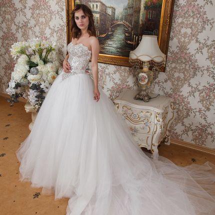 """Свадебное платье """" Агнис"""""""
