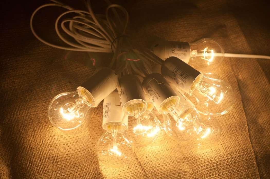 Гирлянды своими руками с лампочками