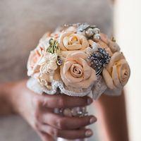 Букет Невесты из брошей