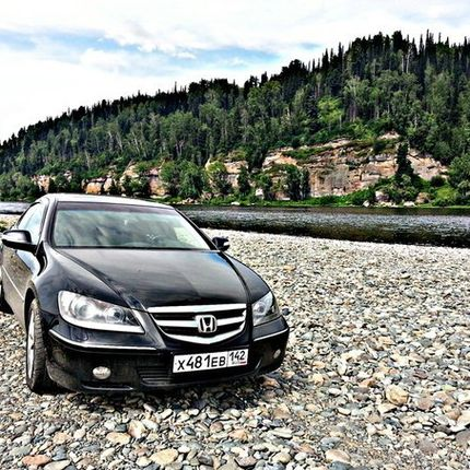 Аренда Honda Legend, 2007 г.в. Цвет черный