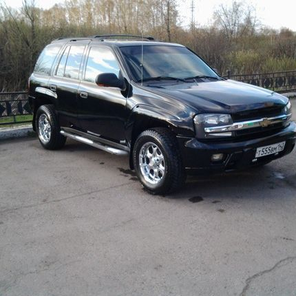 Аренда Chevrolet TrailBlazer 2007 г.в.