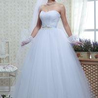 Свадебное платье А-силуэта Дениз. Цена 13 тыс. руб.