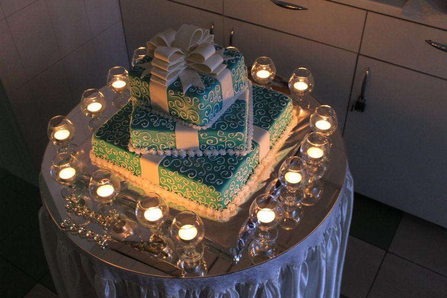 """оформление столика для торта - фото 11508268 """"Маэстро"""" - свадебное оформление"""