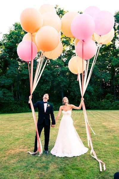 """большие шары для фотосессии - фото 11508340 """"Маэстро"""" - свадебное оформление"""
