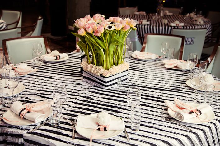 Оформление стола гостей - фото 2528517 Студия авторской флористики и декора'' Красота''