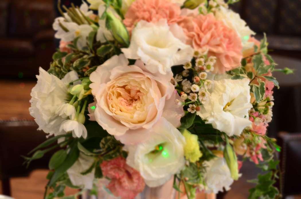 композиция в розово-бежевых тонах - фото 3151999 Topdekor - оформление свадеб