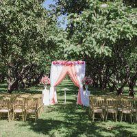 Персиковая свадьба Сережи и Нади