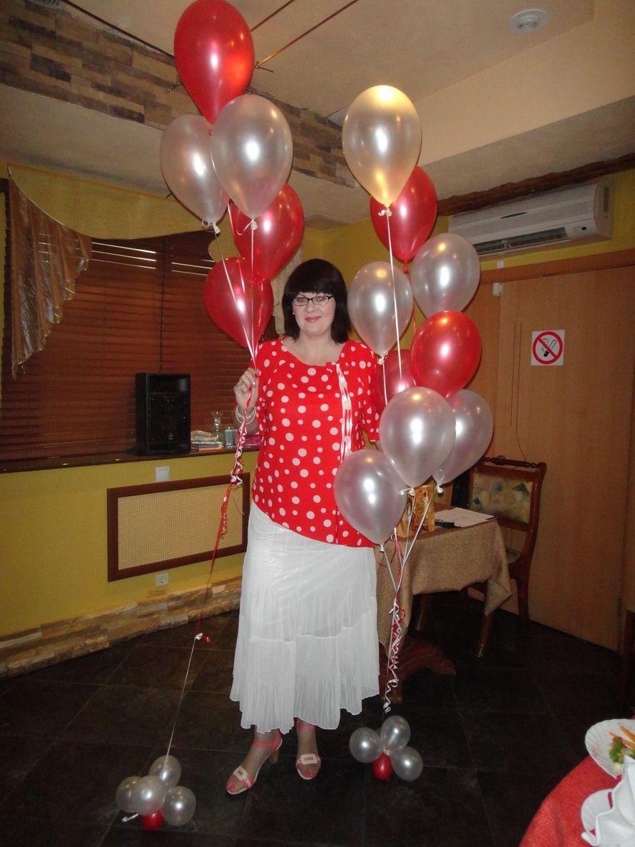Красная блузка в горошек в москве