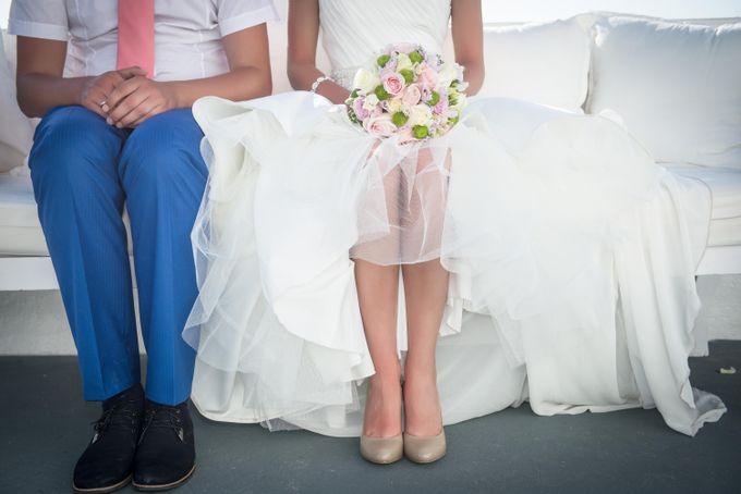 Свадьба Наташи и Димы на Санторини.