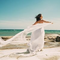 Петя и Таня. Милая свадьба на Кипре.