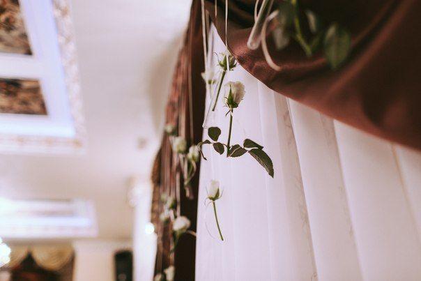 """Свадебный декор и оформление. Свадебный букет, декор бокалов, флористика на стол молодых. - фото 4177755 Студия """"Корица"""" - свадебный декор и флористика"""
