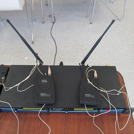 Аренда двойной радиосистемы Dvon U-810