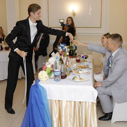 Романтические фокусы на свадьбе