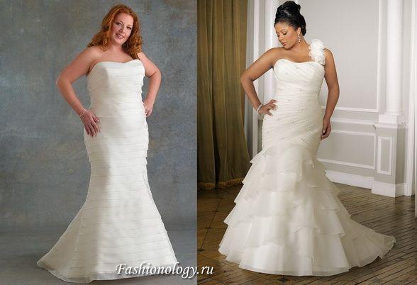 Прически свадебные под платье рыбка