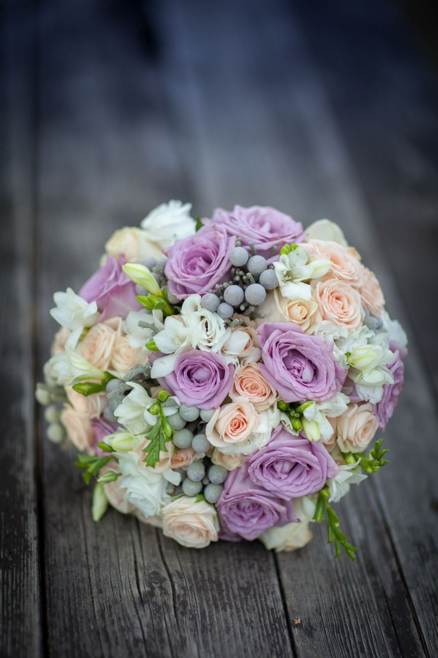 Букет невесты, лиловый - фото 2990451 Фотограф Лапшина Ирина