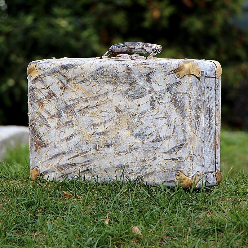 Ретро-чемодан- украсит любую фотосессию и торжество. - фото 3193919 Интернет-магазин аксессуаров «WeddyMaddy»