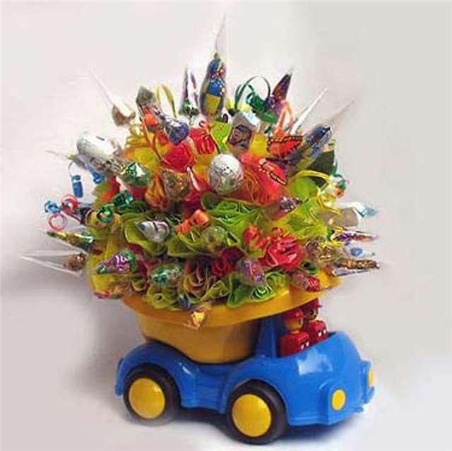 """Фото 2686553 в коллекции букет из конфет - """"Мастерская креативных праздников"""" - оформление"""