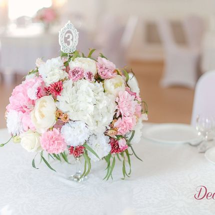Флористика на гостевые столы