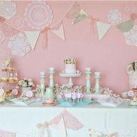 Кенди бар в розовом цвете