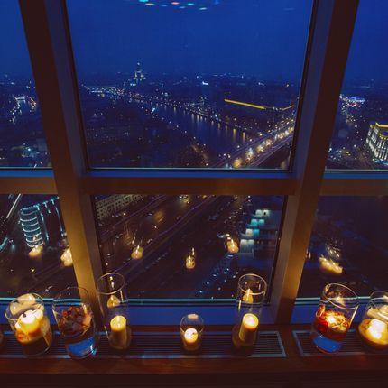 """Аренда номера - пакет """"Романтика над городом"""""""