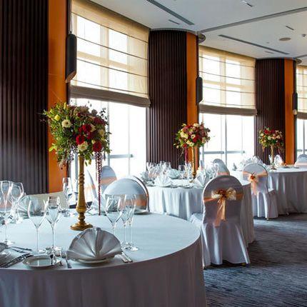 Свадебный ужин в швейцарском клубе