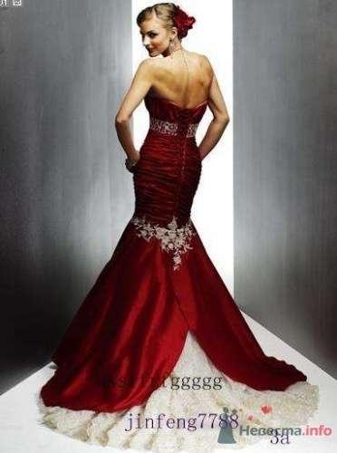 Фото 16283 в коллекции Красное свадебное платье - Невеста01