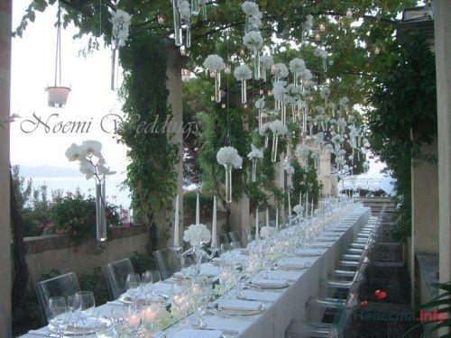 Фото 16406 в коллекции Flower design - Noemi Weddings - организация свадеб в Италии