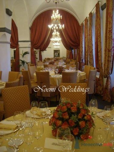 Фото 16407 в коллекции Flower design - Noemi Weddings - организация свадеб в Италии