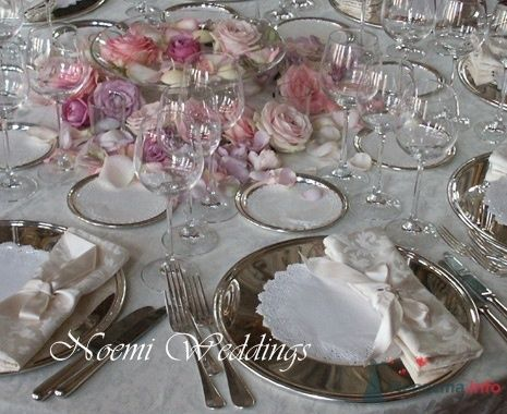 Фото 19002 в коллекции Свадьба в сиреневом цвете..  - Noemi Weddings - организация свадеб в Италии