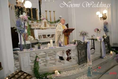 Фото 19007 в коллекции Свадьба в сиреневом цвете..  - Noemi Weddings - организация свадеб в Италии
