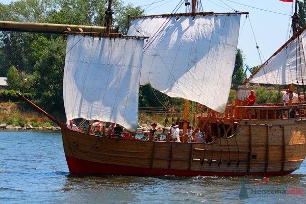 """свадьба на настоящем пиратском корабле - фото 27998 """"Funday"""" - организация мероприятий"""