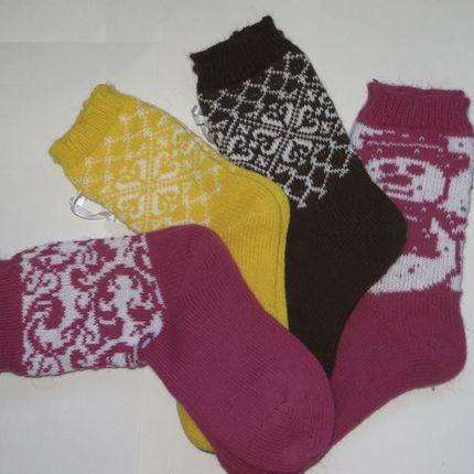 Носки из альпаки
