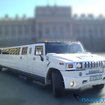 Hummer h2 «White absolute»