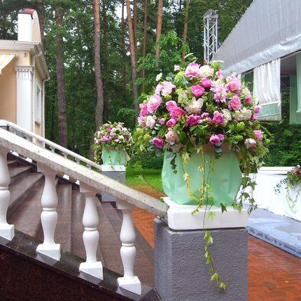 Роскошная цветочная композиция