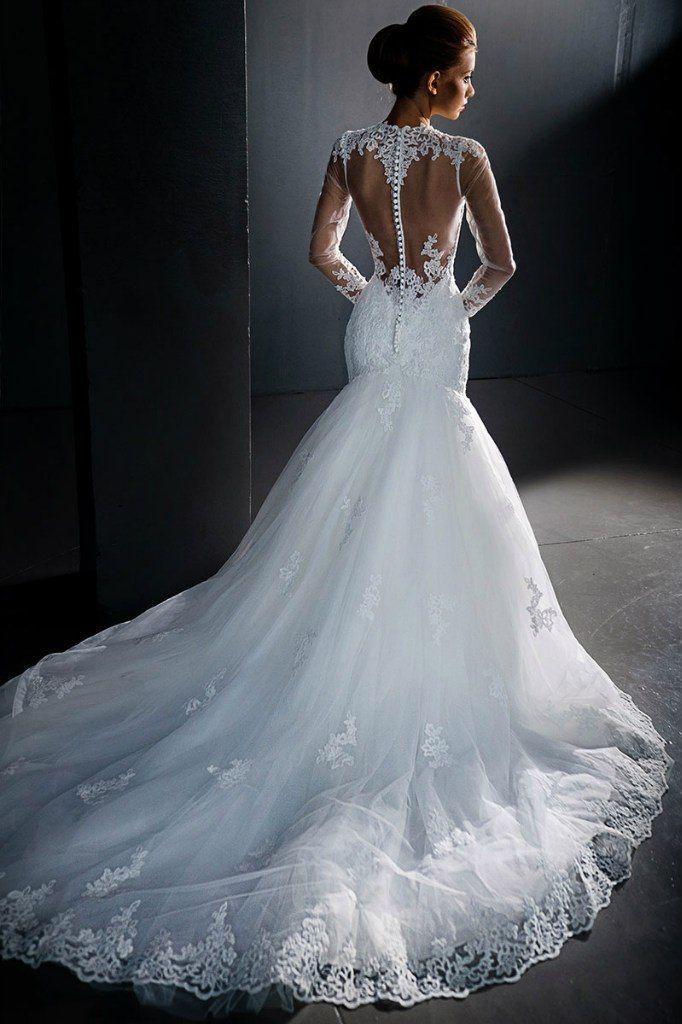 Свадебное платье А-силуэта ТМ Love Bridal (Англия)   - фото 11391446 Свадебный салон Formarriage