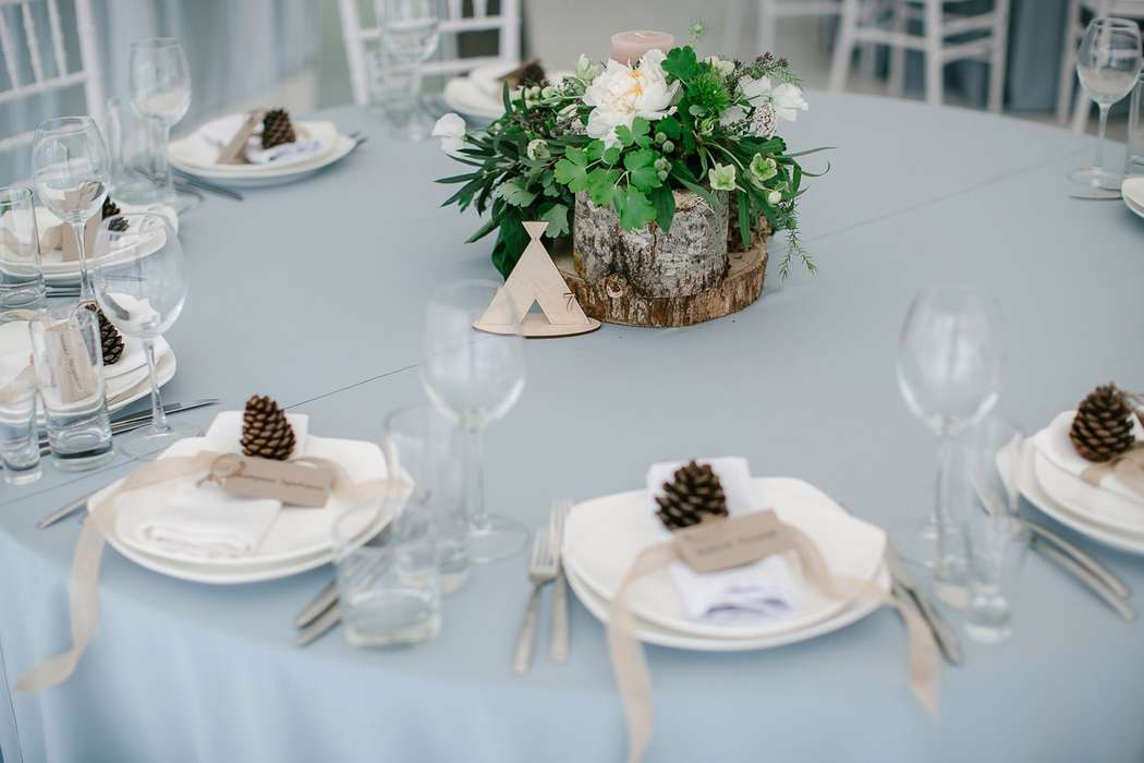 Изящная сервировка стола - фото 14992834 Студия Love.me - организация и декор