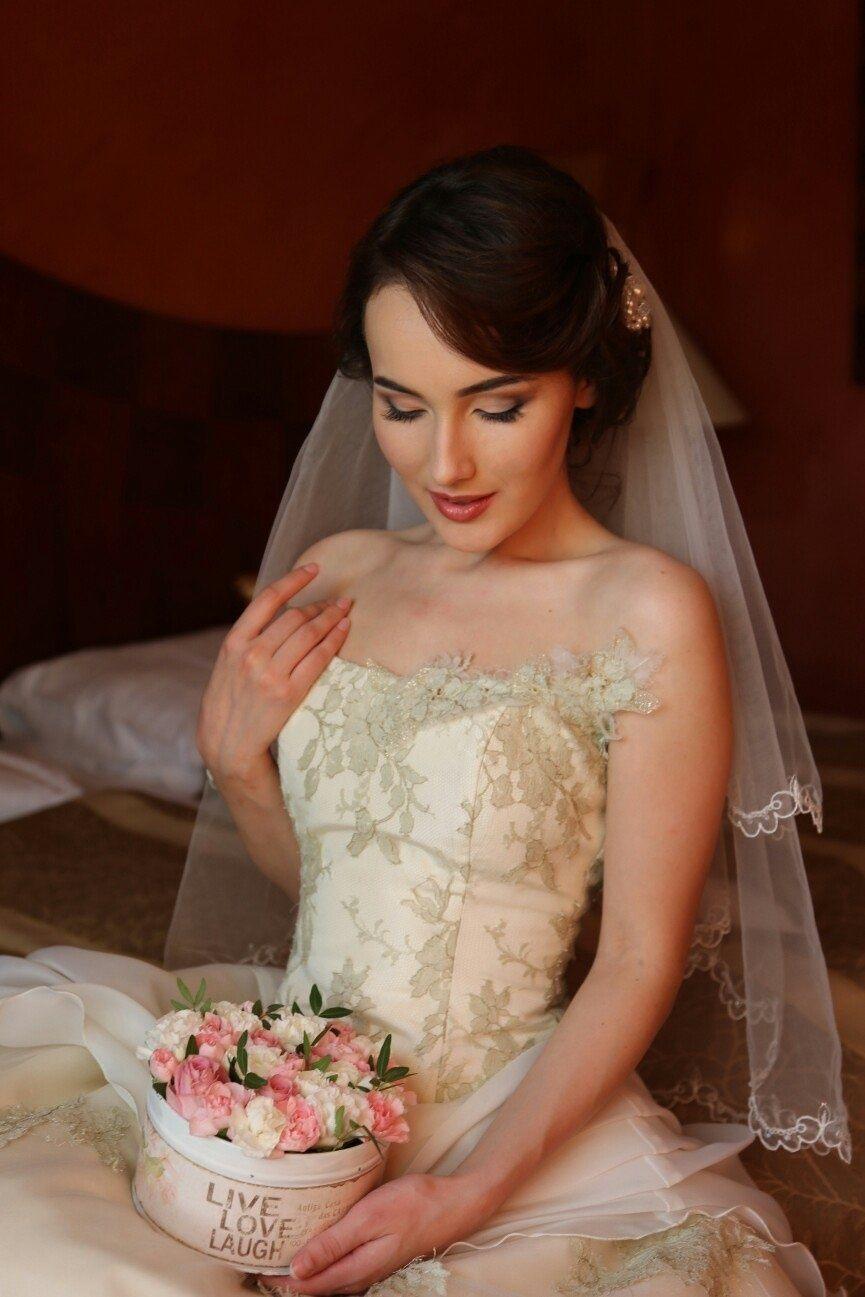 Свадебный макияж невеста Прага - фото 8031800 Визажист Angelie Blazinski