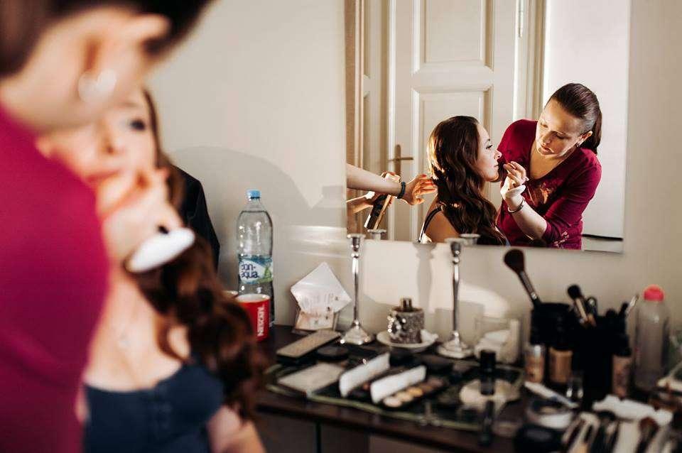Визажист в Праге Анжела Блазински  Свадебный Макияж , вечерний макияж  make up Angelie Blazinski  - фото 14568746 Визажист Angelie Blazinski