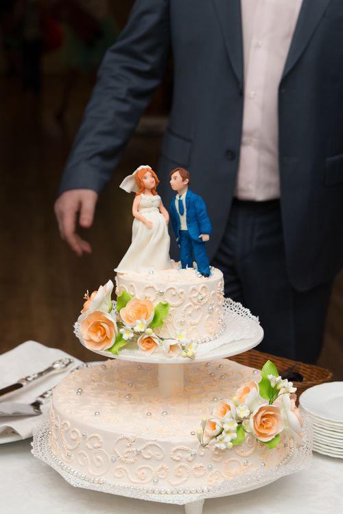 свадебный торт по фото