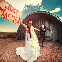 Just Married. Олег и Наташа Табличка на свадьбу