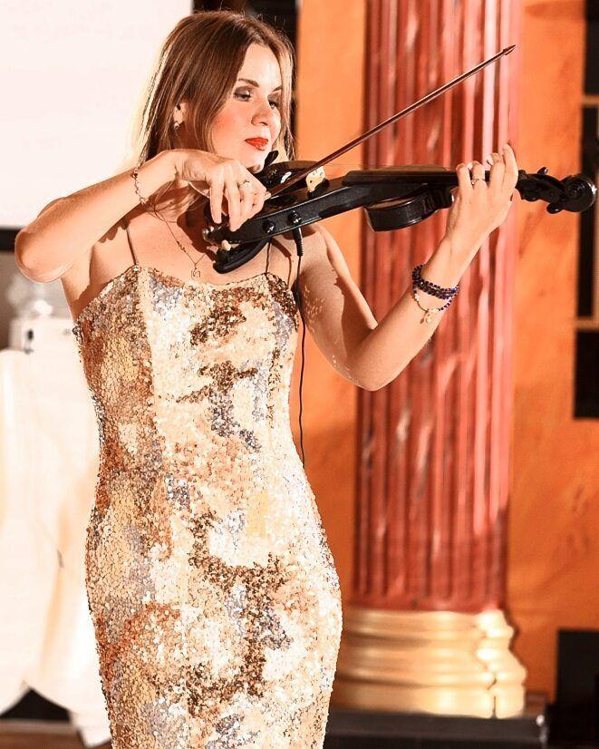 Выступление скрипичного дуэта, 5-20 мин