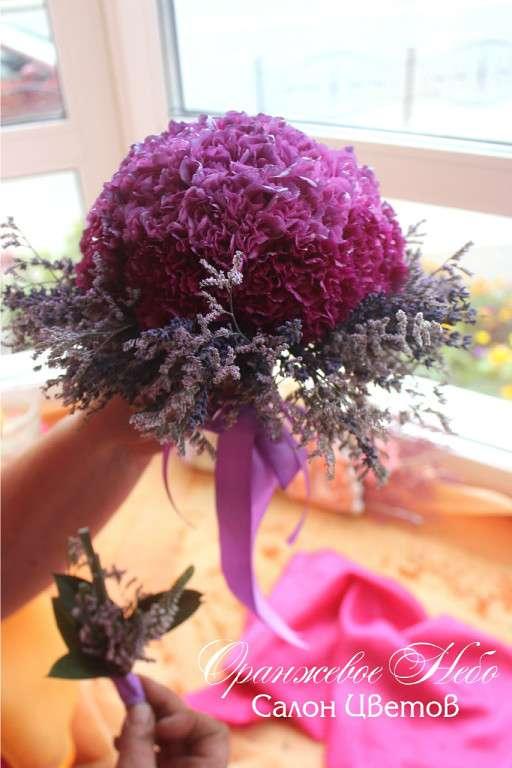 Букет Невесты с лавандой! - фото 2838579 Студия флористики и декора Оранжевое Небо