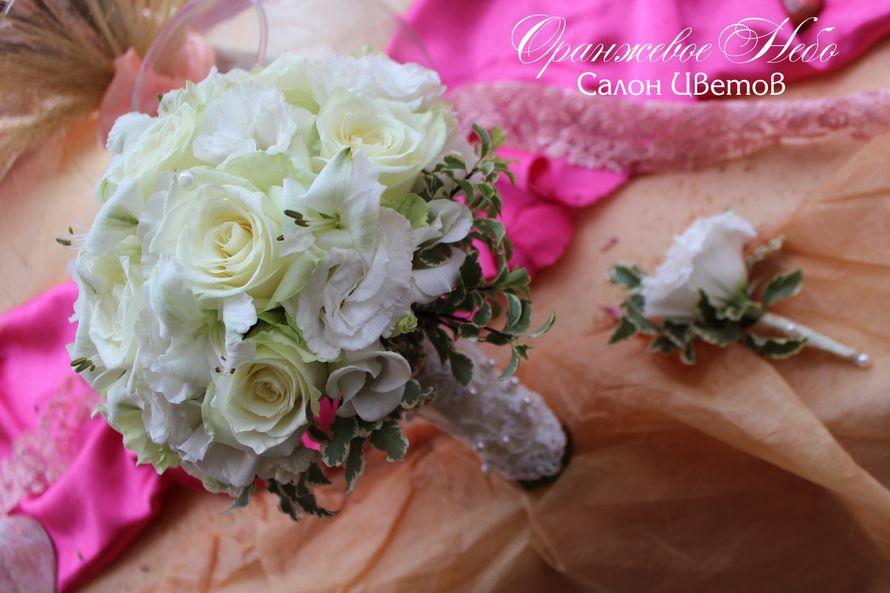Розы, лизиантус - фото 2929767 Студия флористики и декора Оранжевое Небо