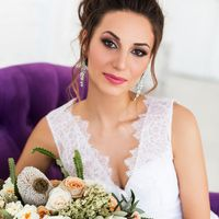 Свадебный макияж и прическа Катя Мороз