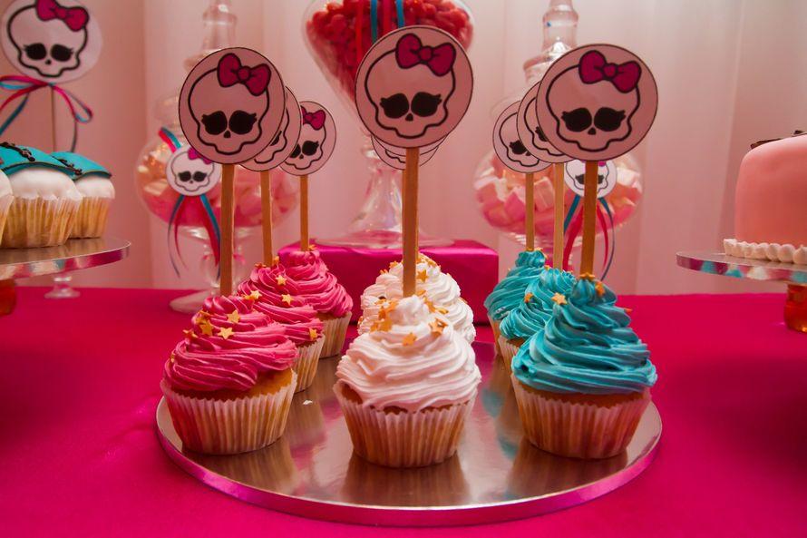 Фото 5228493 в коллекции Candy Bar в стиле мультика Monster High........... - Декор событий  –  дизайнеры