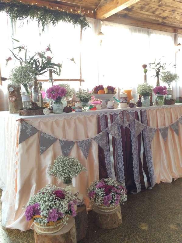 Свадьба в стиле рустик - фото 11926090 Студия декора Rizi